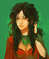 Commission : Melisande by Katchoute