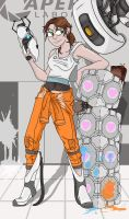 Chell by Toonlancer