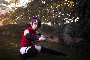 Sarada Uchiha Cosplay by DEATHNOTE---L