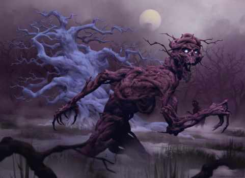 Guardian of the Palewood by LeePfenninger