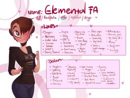 - Meet the artist - by Elemental-FA
