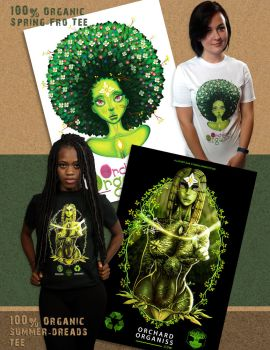 Spring-Fro-Summer-Dreads-Tee Ad Design by G-flux