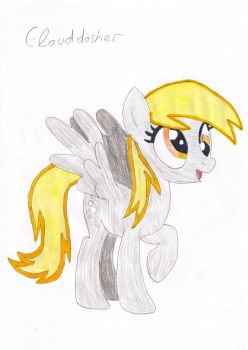 Derpy Hooves by clouddasher