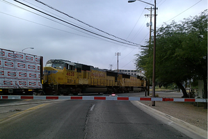 Train Crossing 6th-9th Crossing 12-02-2016 by WillM3luvTrains