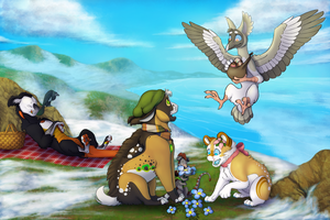 Seaside Picnic by Silverflame88