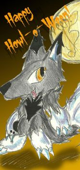 Happy Howl o Ween by CobaltWolfSirius