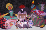 Madoka- Witch Party by Sogequeen2550