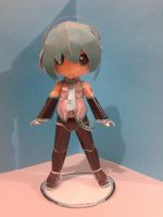 Mikuo Hatsune papercraft by daigospencer