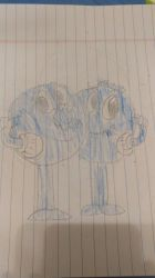 my second drawing of the Blueberry brothers by pookiesaurus4