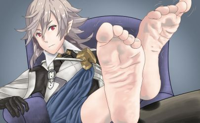 Male Corrin's Feet by Final-Fantaisies by superdes513