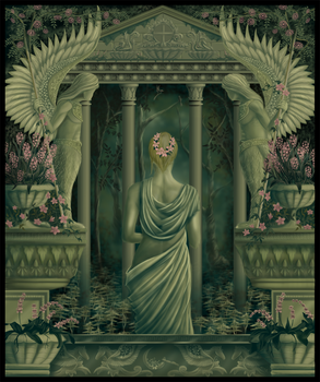 Gaia, Goddess of the Earth by liosalpha