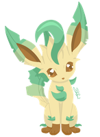 Pokemon - Leafeon by PirateGod3D2Y