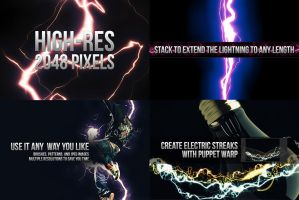 18 Electrifying Lightning Strikes by pstutorialsws