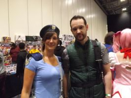 Chris Redfield And Jill Valentine by Collioni69