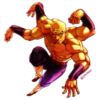 Tenshinhan for Collab by dkirbyj