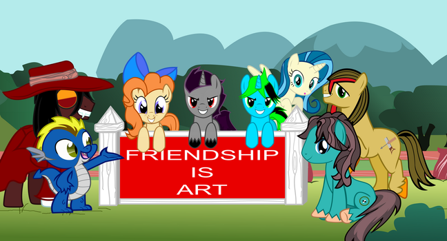 New Friendship is art by Vector-Brony