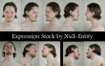 Expression Stock - *Smile* by Null-Entity