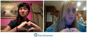 Me and Camile video chatting by asha456512