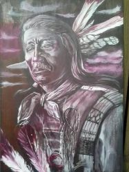 Chief Red Cloud  by JCVazquezart