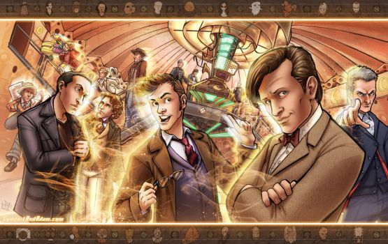 Dr. Who Extravaganza by ComfortLove