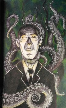 H P Lovecraft by Dreamerlaura1987