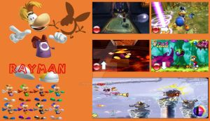Rayman Super Smash Bros Moveset by Hyrule64
