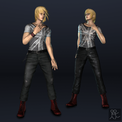 DOA5 - Eliot (casual outfit) by Sticklove