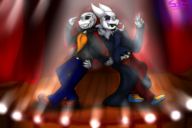 Dancing: Blaze and Leroy by SanaeLovesDragonTale