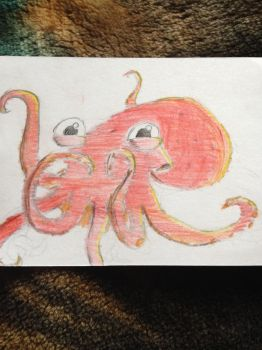 Octopus (1st try) by TTheFaceless