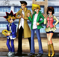 Yugioh DM @ Yuugi and Friends (Duelist Kingdom) by ElfBean