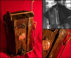 Steampunk backpack by SteamMouss