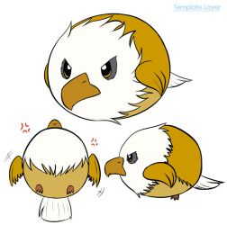 Gold Eagle Squishable Design by xXPariahsXx