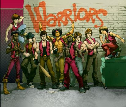 The Warriors by gryphta
