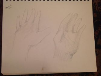 More hand sketches! by TheAlchemist31011