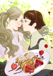 Ann and Makoto by Autumn-Sacura