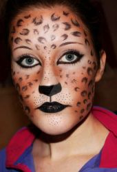 Leopard makeup by Creativemakeup