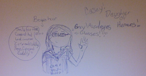 Me as a demigod :3 by PercabethPotter4ever