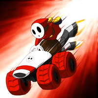 guess who my mario kart 7 main is by ShadowScarKnight