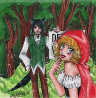 little red riding hood by Mad-Hatter----X