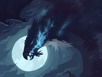 The Shadow That Swallowed the Moon by fancypigeon-arpg