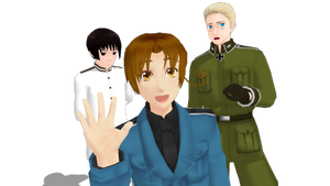 MMD: Axis Pasta by Purple-Rage