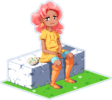 Chillin' Gift by Pixelated-Dude