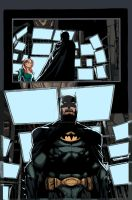 The Dark Knight colors FINCH by LarsonJamesART