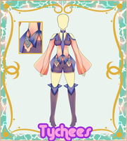 Outfit Adoptable (Auction) #13 CLOSE!!! by Tychees