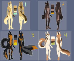 Anthro Adoptables by Whitelupine