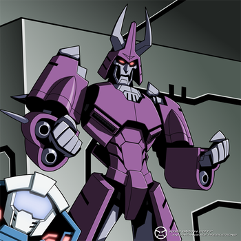 MTMtE/Lost Light Cyclonus by KrisSmithDW