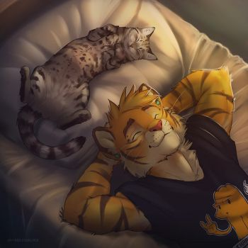 cat and big cat by 2078