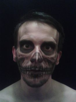 Skull make up by Kordian678