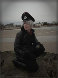 Prussia - Before the Storm by the Sea by Mistress-Koi