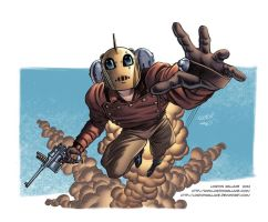 Rocketeer Color by LostonWallace